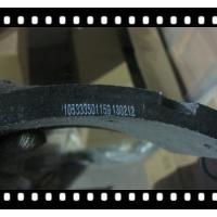 Quality HOT SALE FONTON TRUCK SPARE PARTS,HOWO FRICTION LINING OF FRONT BRAKE SHOE for sale