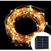 10M 20M Solar LED String Lights / Outdoor Copper Wire String Lights FOR Decoration Wedding Manufactures