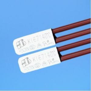 Quality ksd301 mechanical miniature adjustable bimetallic reset thermostat thermo for sale