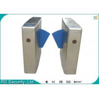 Subway High-end Residential Managements Flap Gate Security Turnstile System Manufactures