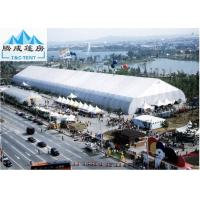 Galvanized Steel 30x50m Sporting Event Tents , White PVC Roof Aluminum Marquee Manufactures