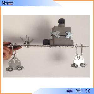 Gantry Crane Festoon Cable Trolley C-Rail Festoon System With Dual Locking Elements Manufactures