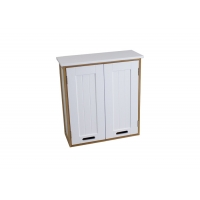 48cm Length MDF And Bamboo Bathroom Wall Cabinet Manufactures