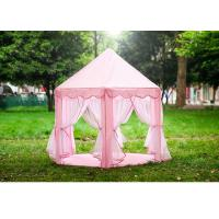 Pvc Pole Childrens Play Tent Indoor Clean Room Princess Castle Tent House Manufactures