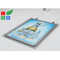 2mm Clear Acrylic LED Crystal Light Box HS Code 94056000 For Ceiling Hanging Manufactures