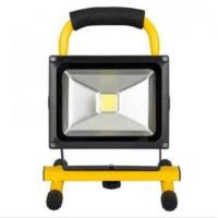 20W Rechargeable LED Flood Light Portable Emergency Lights Outdoor Floodlights with Battery Manufactures