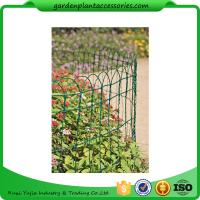 """Economical Garden Plant Accessories - Dark Green  Mesh Steel Wire Fencing PVC-coated 1/16"""" wire  All heights are 32'-9"""" Manufactures"""