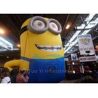 PVC Tarpaulin Inflatable Cartoon Character Giant Inflatable Minions Customized Size Manufactures