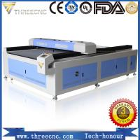 Most popular laser wood engraving machine price for nonmetal material  TL1325-80W. THREECNC Manufactures
