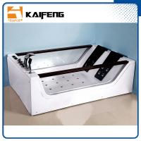 Double Glass Apron Jacuzzi Whirlpool Bath Tub With Air Switch Control Manufactures