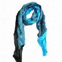 Lady's Stylish Scarf, Made of 100% Viscose, Jacquard Pattern Manufactures