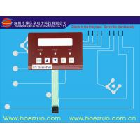 Quality Push Button LED Membrane Backlit Switch Panel 10Ω - 500Ω With 3m Adhesive for sale