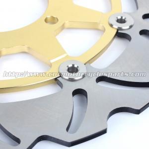 Quality Aluminum Motorcycle Brake Disc Rotor Brake Kawasaki Z 1000 ZX10R CNC Milling for sale