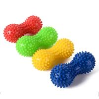 Peanut Shape Spiky Massage Ball Foot Trigger Point Body Stress Relief Massager Manufactures