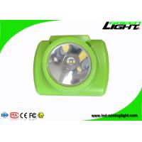 Buy cheap 13000lux brightness IP68 water-proof rechargrable green led mining headlamps from wholesalers