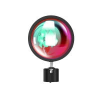 IR Remote Aluminum Alloy Sunset Projector Lamp Halo Lamp Manufactures
