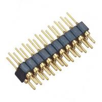 Brass 2.54 Mm Round Pin Header  Straight PPS H=3.0 Mm L=10.0 Manufactures