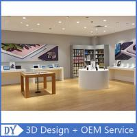 Quality Customized design store display furniture,mobile phone store furniture with shop counter design for sale
