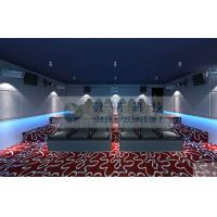 Amusement machine 5D cinema System , 5D movie theater equipment with NEC / Imax Projector Manufactures
