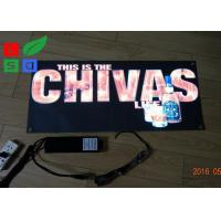 Quality Illuminated Technology EL Light Panel Sound Control EL Film Sign With Long for sale