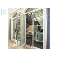 Economic Arched Aluminium Casement Door Powder Coating Australian Standard As2047 Manufactures