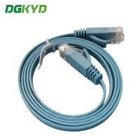 Ethernet Patch Cable Rj45 Utp Cat6 Flat Ethernet Cable With CE / UL / Certification Manufactures