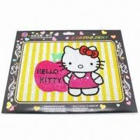Flash Laptop Sticker with Acrylic Rhinestones, Fashionable Collection Design Manufactures