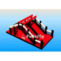 OEM / ODM Inflatable 5k Obstacle Course With PVC Tarpaulin Material Manufactures