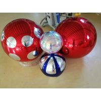 Commercial Silver PVC Inflatable Mirror Ball For Disco Party Decorations Manufactures