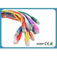 Fluke Tested Lan UTP Patch Cord Cable Cat5e Full Copper Snagless Mold Injection Type Manufactures