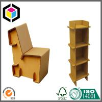 Quality Strong Corrugated Furniture Desk; Shoe Cabinet Made of Cardboard Kraft Paper for sale