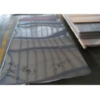 Quality ASTM Grade 316L Cold Rolled Stainless Steel Plate No.1 / No.4 / 2B Surface for sale