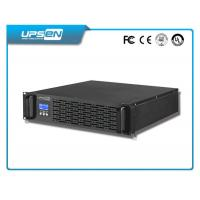 Mounted Rack Mountable UPS Long Backup Time Pure Sine Wave Output Manufactures