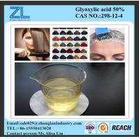 Buy cheap glyoxylic acid 50% used for hair without heavy metal,CAS NO.:298-12-4 from wholesalers