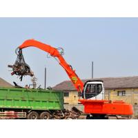 Large Hydraulic Material Handler Excavator , Mini Electric Powered Excavator Manufactures