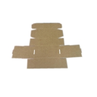 Quality Clothes Packaging 290*290*80mm 200g Corrugated Folding Plane Mail Box for sale