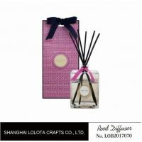 Professional Home Reed Diffuser Square Shaped SGS ITS BV Certificated Manufactures