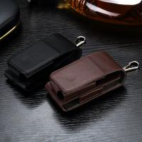 Quality Black Color Leather Ecig Case Full Protection Compact Size Light Weight for sale