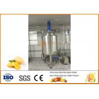 Fresh Mango Processing Line Turn-key Project 10T/H Capacity 10~20 Brix Manufactures