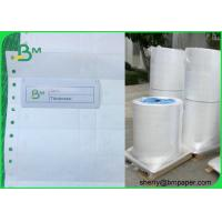 1025D Waterproof Coated Tyvek Printer Paper Self - adhesive Fanfold Barcode Labels Manufactures
