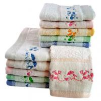 bamboo jacquard terry hand towels Manufactures