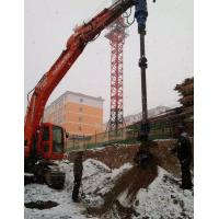 Driven Piles Construction Hydraulic Auger Drilling Equipment 20-46 Rpm Rotate Speed Manufactures