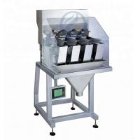 High Accuracy 4 Head Linear Weigher Easy Cleaning For Fertilizer Granules Manufactures
