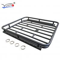 Nissan Paladin Low Profile Roof Rack Basket , E009A Easy To Get On Car Cargo Basket Manufactures