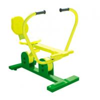 outdoor fitness equipments steel based zinc powder coating outdoor leisure exercise rower-OK-H01 Manufactures