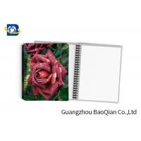 0.6mm PET Material Personalized Spiral Notebooks  3D Lenticular Stationery Manufactures