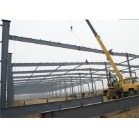 Energy Saving Prefabricated Hall Metal Frame Steel Structure Construction Manufactures