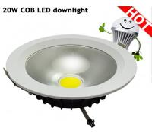 Gimbal COB led downlight 20W Manufactures