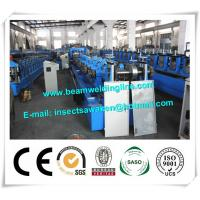 Blue Interchangeable C Z Purlin Roll Forming Machine Fully Automatic Manufactures
