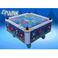 Quality Easy Operation coin operated Kids Air Hockey Table , 4 Person Air Hockey Arcade for sale